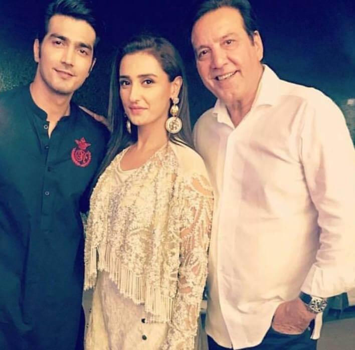 Momal Sheikh's Husband Nadir Makes Showbiz Entry