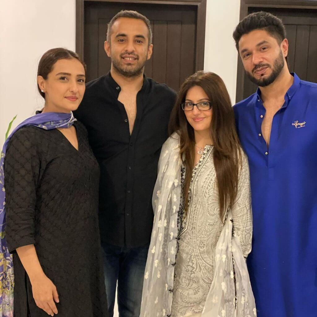 Pakistani Actors Attend Momal Sheikh's Sehri Party