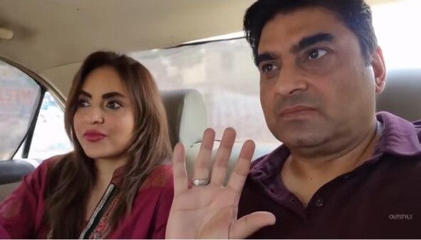 Nadia Khan And Faisal Mumtaz Rao 1st Sehri After Nikah