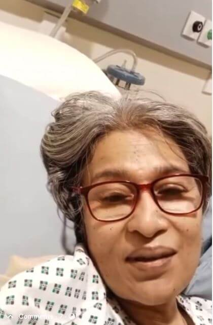 Veteran TV Actor Naila Jaffery Seeks Financial Aid In Viral Video As She Suffers From Cancer