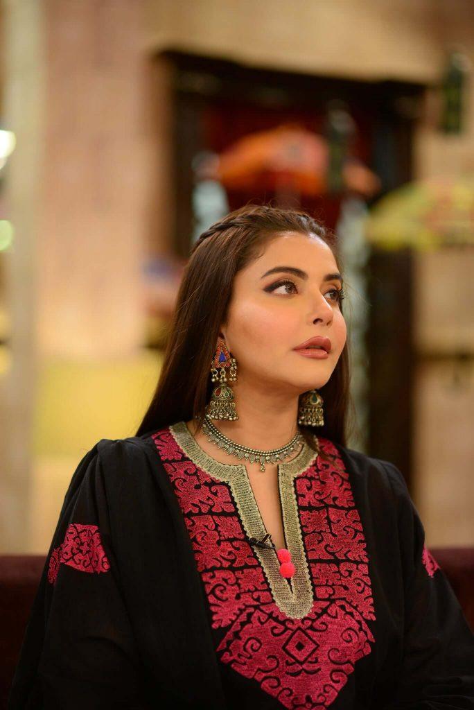 Nida Yasir Some New Adorable Clicks In Balochi Dress