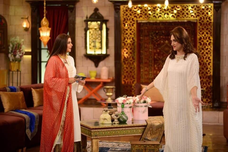 Bushra Ansari on Nida Yasir Morning Show With Her Young Look