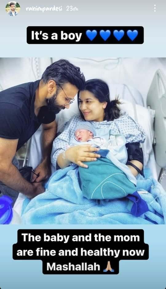WATCH: Rahim Pardesi And Somia Rahim Introduce Baby Boy