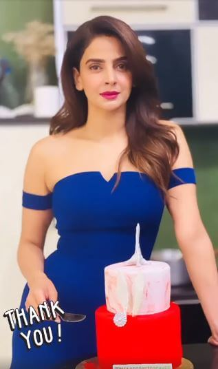 Saba Qamar Celebrates the 37th Birthday, Receives Love from Fans And Friends