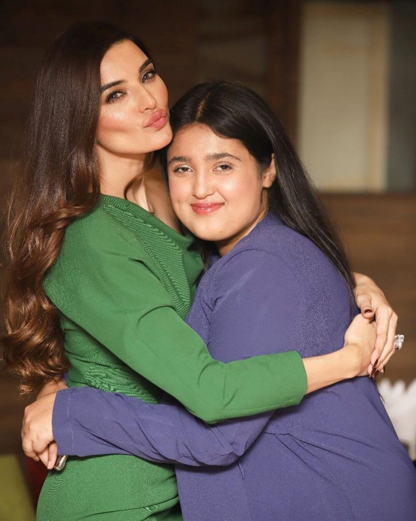 Sadia Khan Family