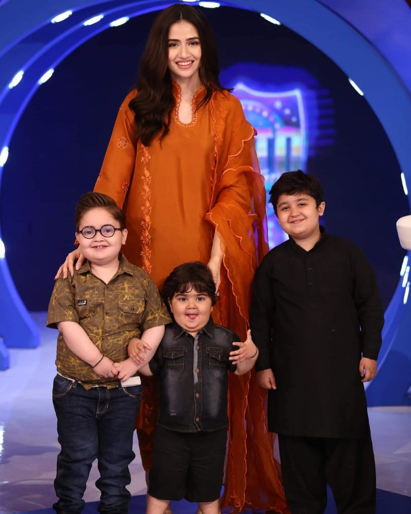 Gorgeous Sana Javed Spotted at Jeeto Pakistan League