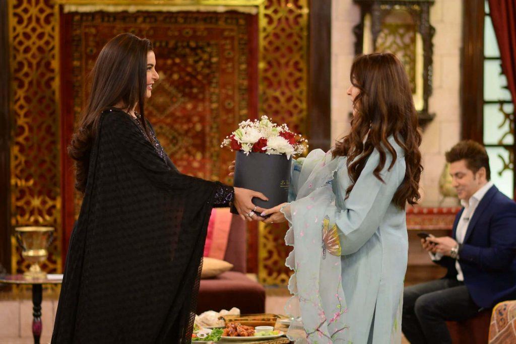 reema khan and nida yasir