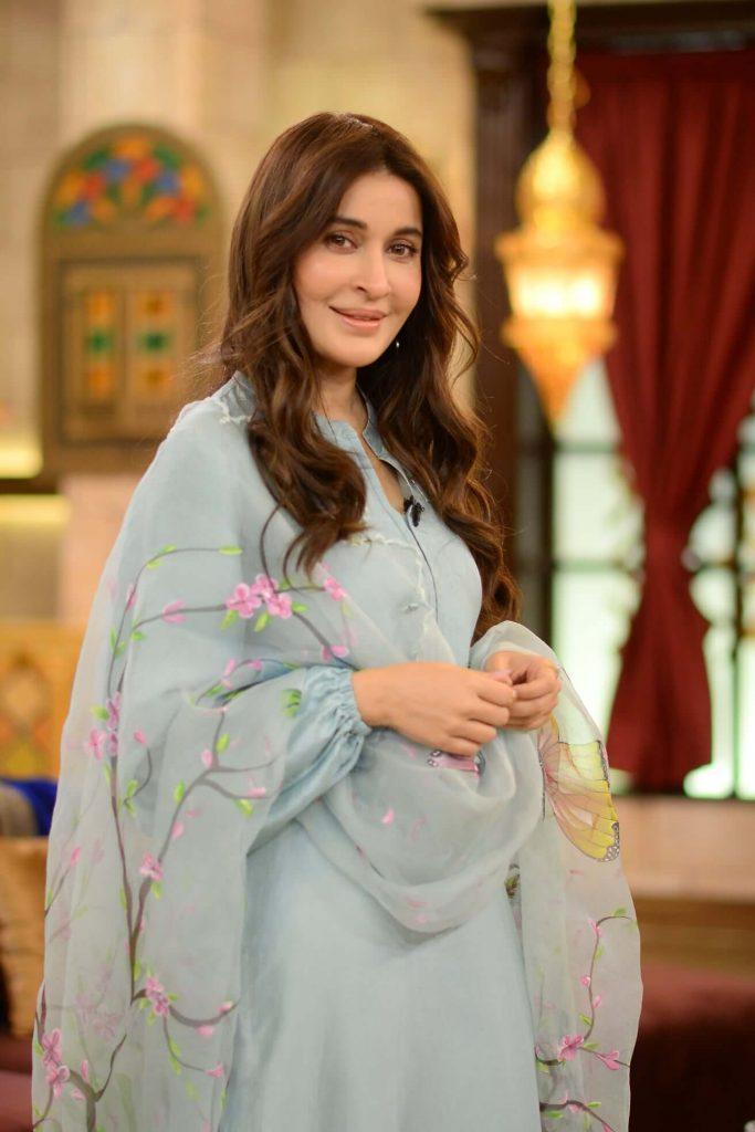 shaista lodhi with nida yasir