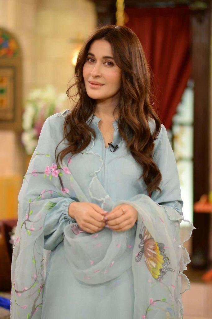 shaista lodhi in nida yasir morning show
