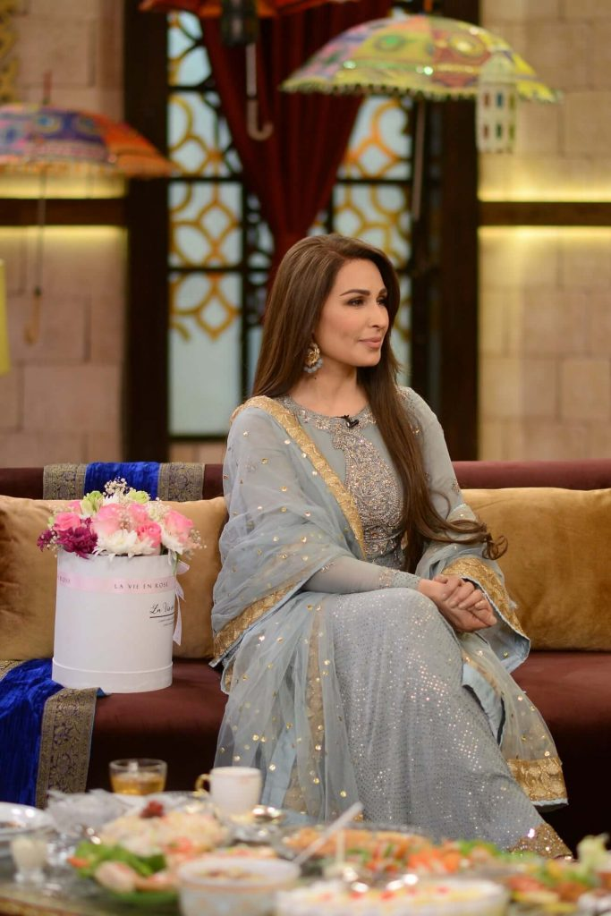 reema khan in nida yasir morning show