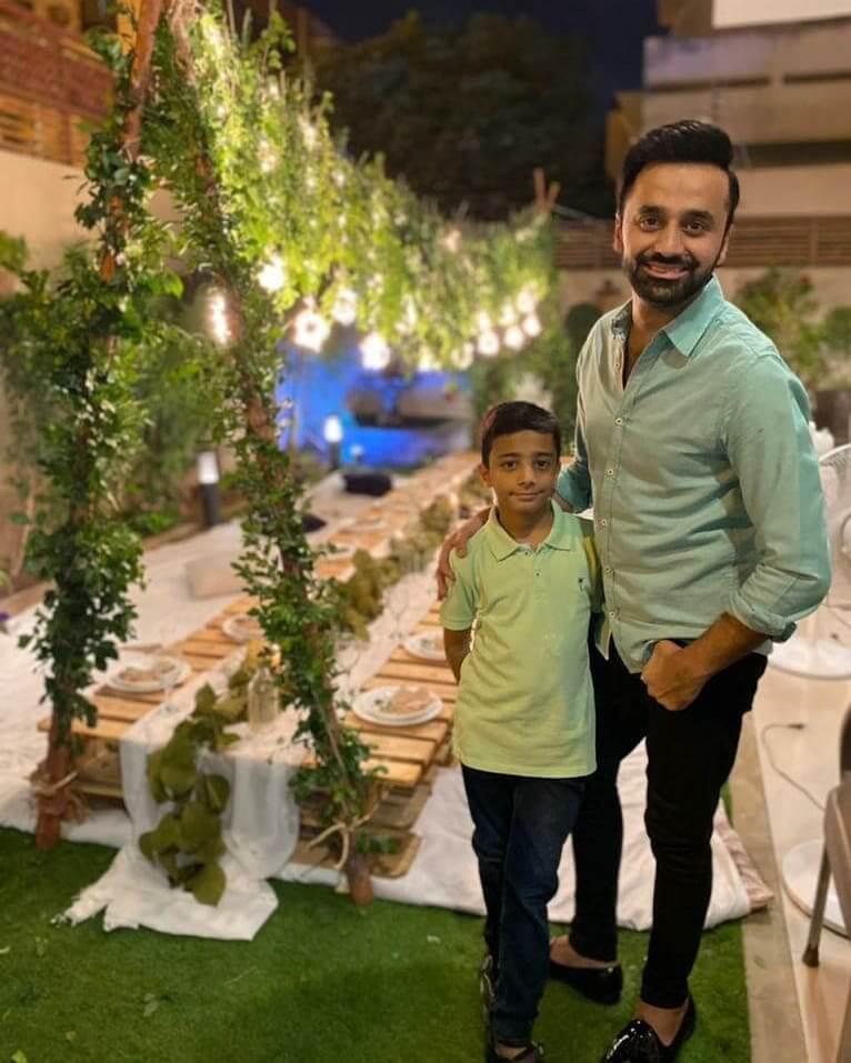 Waseem Badami Celebrated Son Adil's Birthday at Home