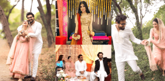 Beautiful Engagement Pictures of Actress Mariyam Nafees With Her Family