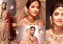 Hiba Bukhari Looking So Royal In Her Latest Bridal Photoshoot