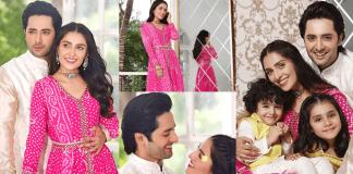 IN PICS Ayeza Khan And Danish Taimoor Greet Their Fans On Eid