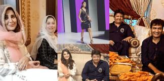 In Pics Areeba Habib Attends Umer Sharif's Iftar Party