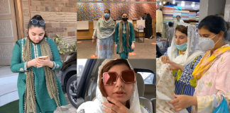In Pics Javeria Saud Shopping For Eid With Her Family