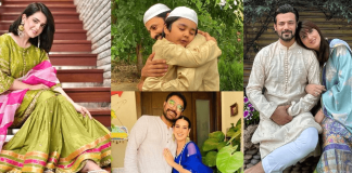 Pakistani Celebrities Pictures from Eid-ul-Fitr 2022 – Day1