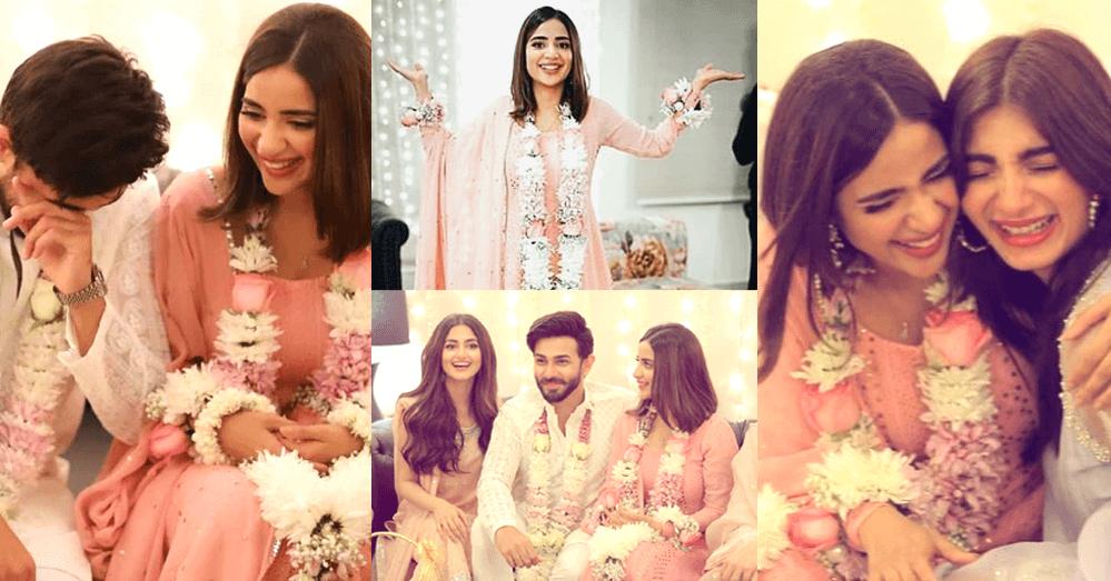 Saboor Ali & Ali Ansari Got Engaged (Pictures)