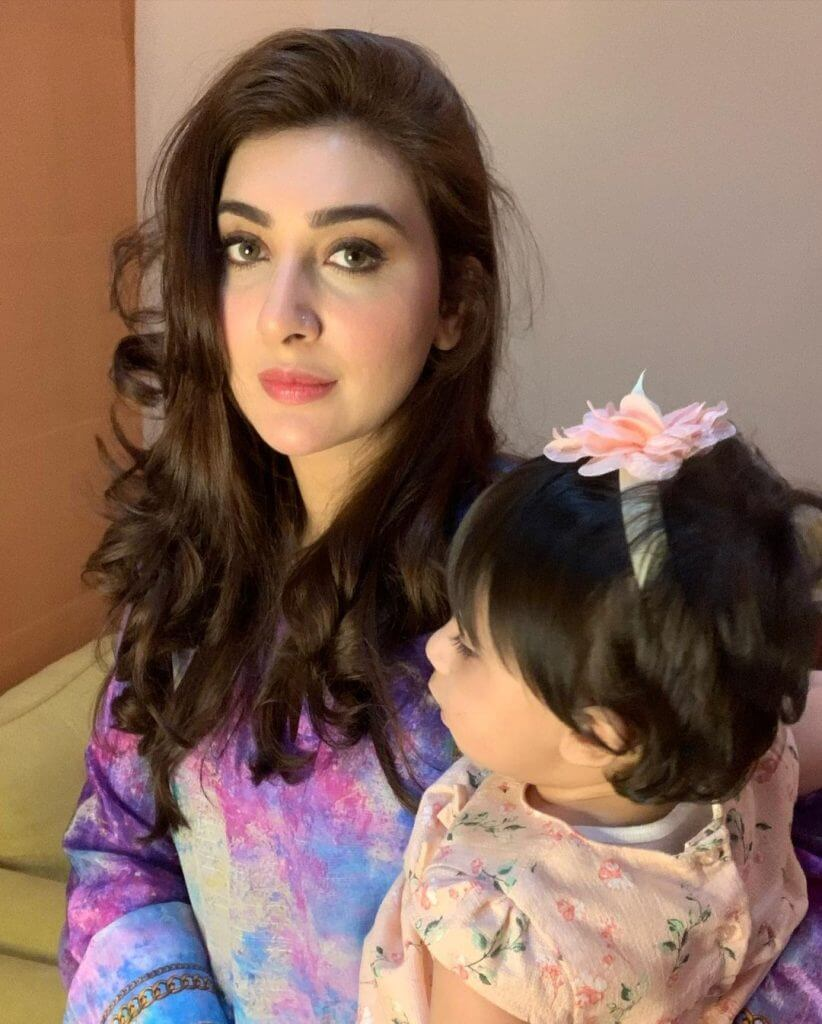 Beautiful Family Pictures of Aisha Khan With Her Husband And Kids