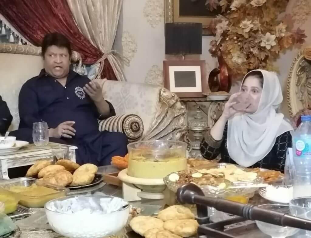In Pics Areeba Habib: Attends Umer Sharif's Iftar Party