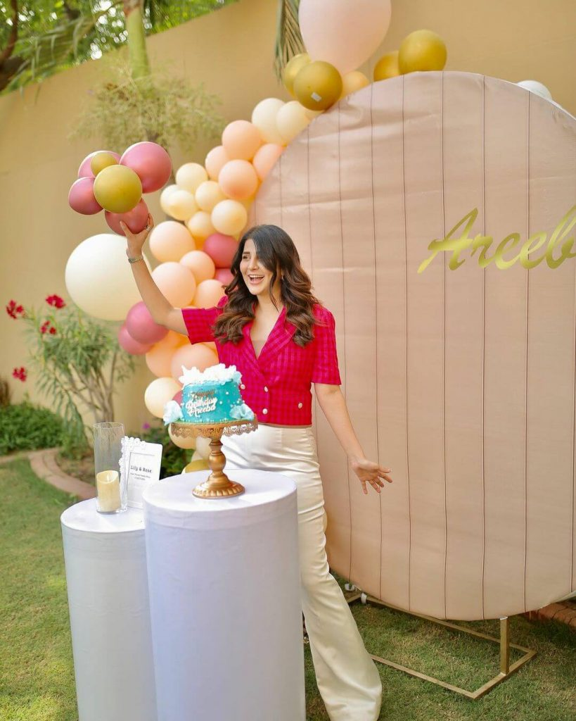 Areeba Habib Celebrates Her 28th Birthday, Receives Love from Fans And Friends