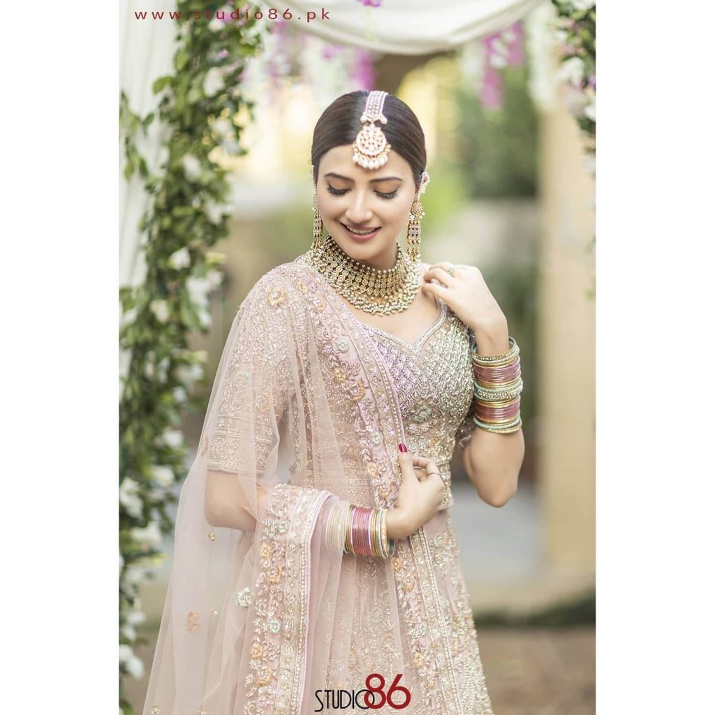 aymen saleem bridal shoot photos