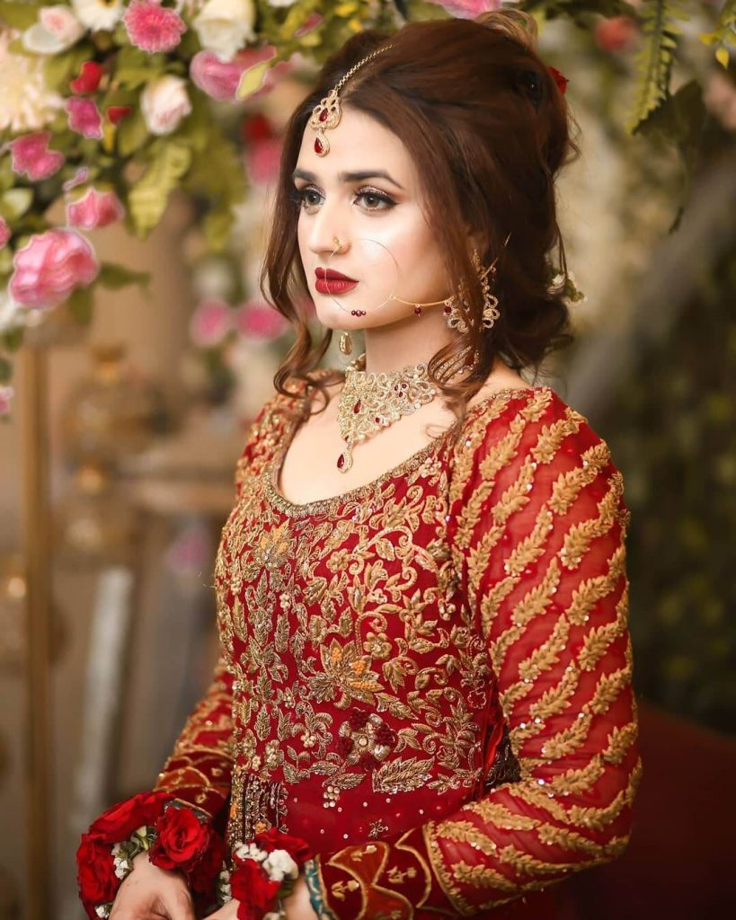 Hira Mani Looking Absolutely Gorgeous In Her Latest Bridal Photoshoot
