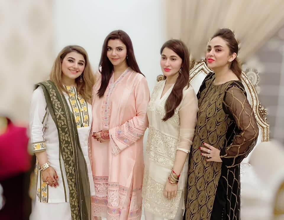Nida Yasir, Shaista Lodhi, Nadia Khan Bond At Javeria Saud's Eid Bash – See Pic