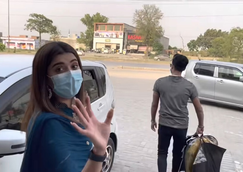 Kanwal Aftab New Latest Pictures With Her Lovely Husband Zulqarnain Sikandar