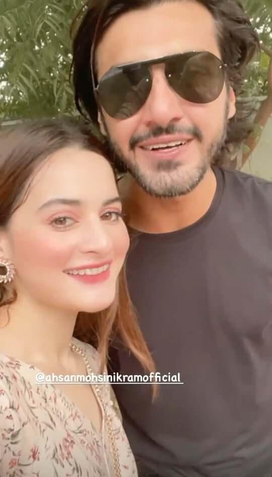 Beautiful Clicks of Minal Khan Attends Ahsan Mohsin Ikam's Niece Birthday Party