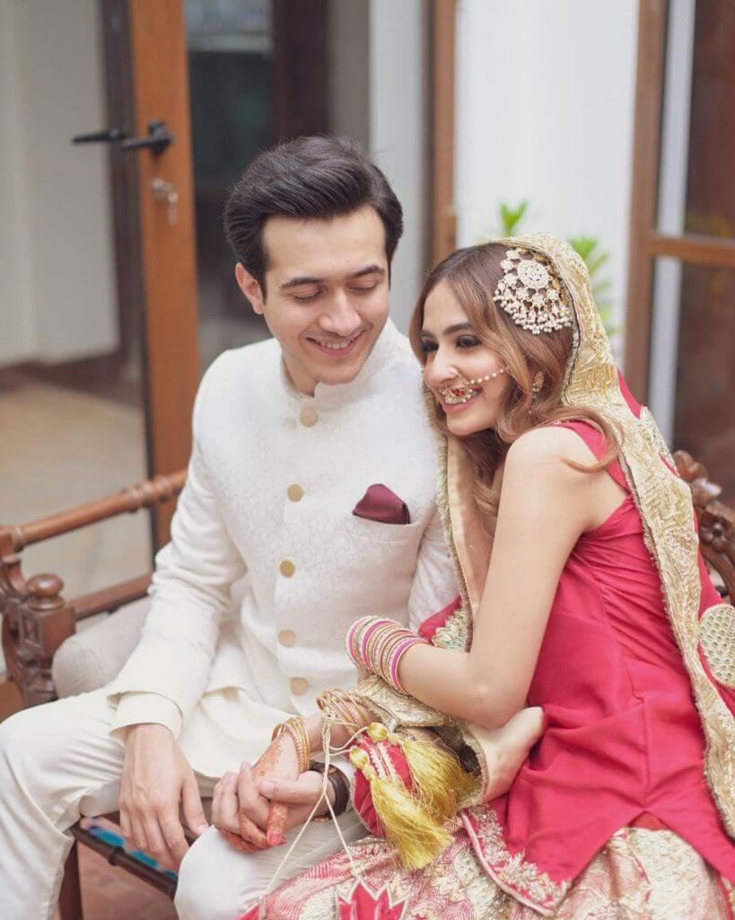 Nabeel Bin Shahid Wedding Pictures With His Wife Alisha Pasha