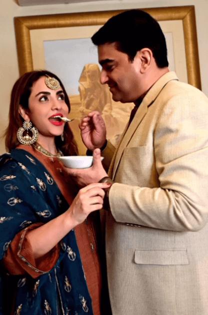 Nadia Khan With Her Husband- Beautiful Eid Photoshoot