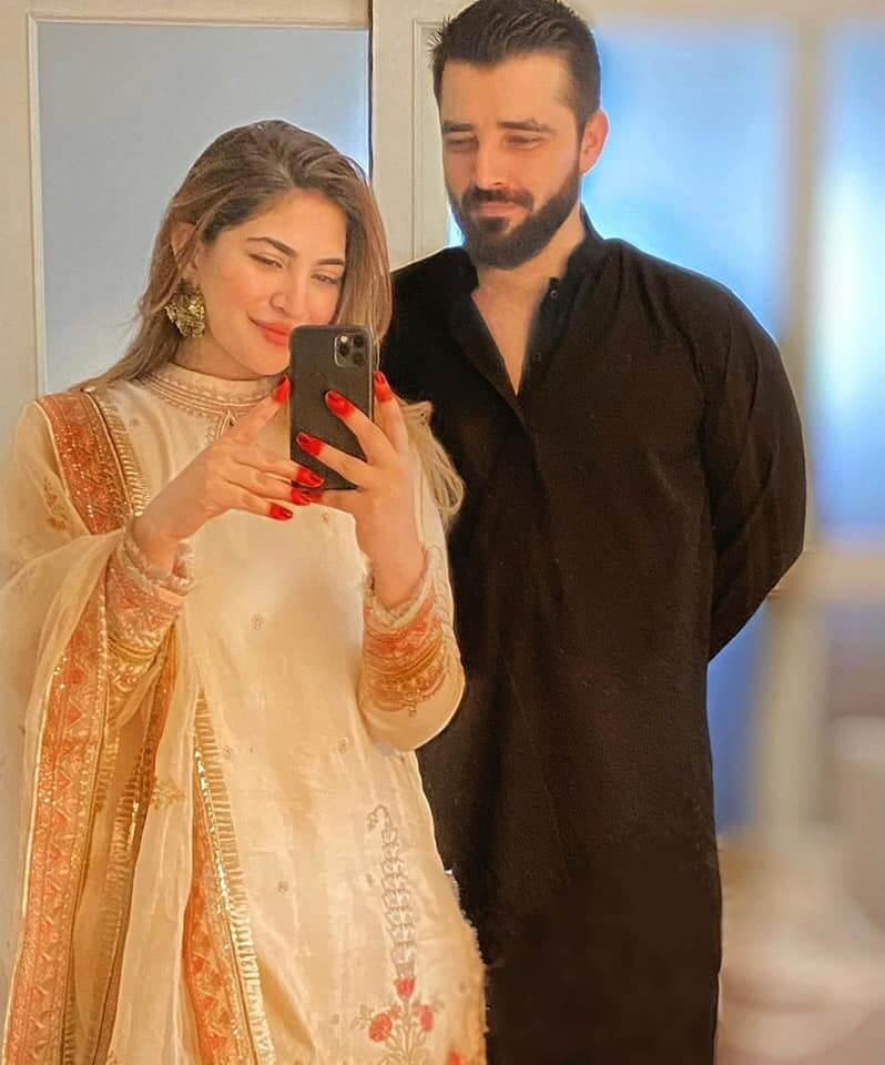 Beautiful Pics of Naimal Khawar With Her Son on Eid