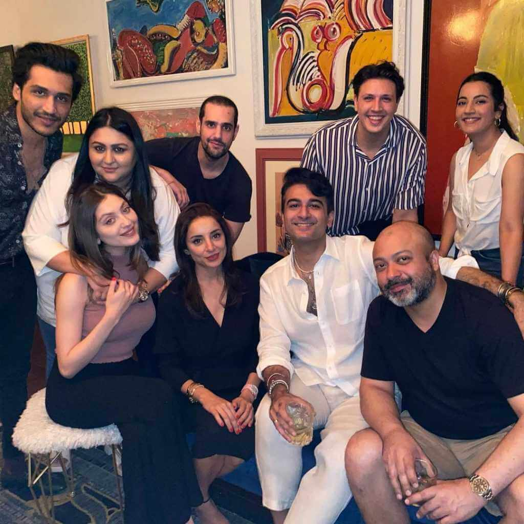 Neha Rajpoot Hosted Surprise Dinner Party at Her House For Close Friends