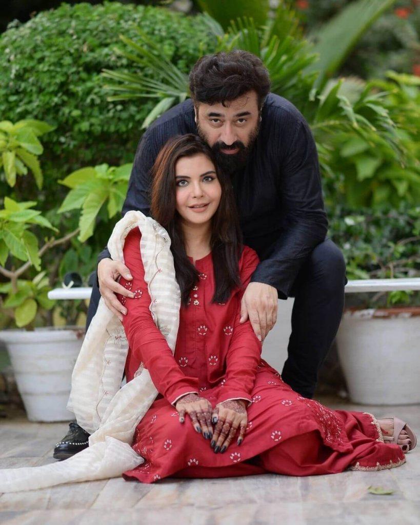 Nida Yasir With Her Husband- Beautiful Eid Photoshoot