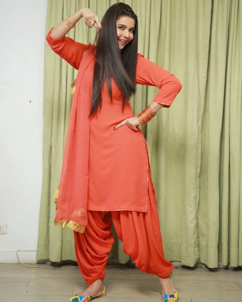 Nida Yasir Latest Photoshoot for Eid Telefilm Uff Yeh Biwiyaan