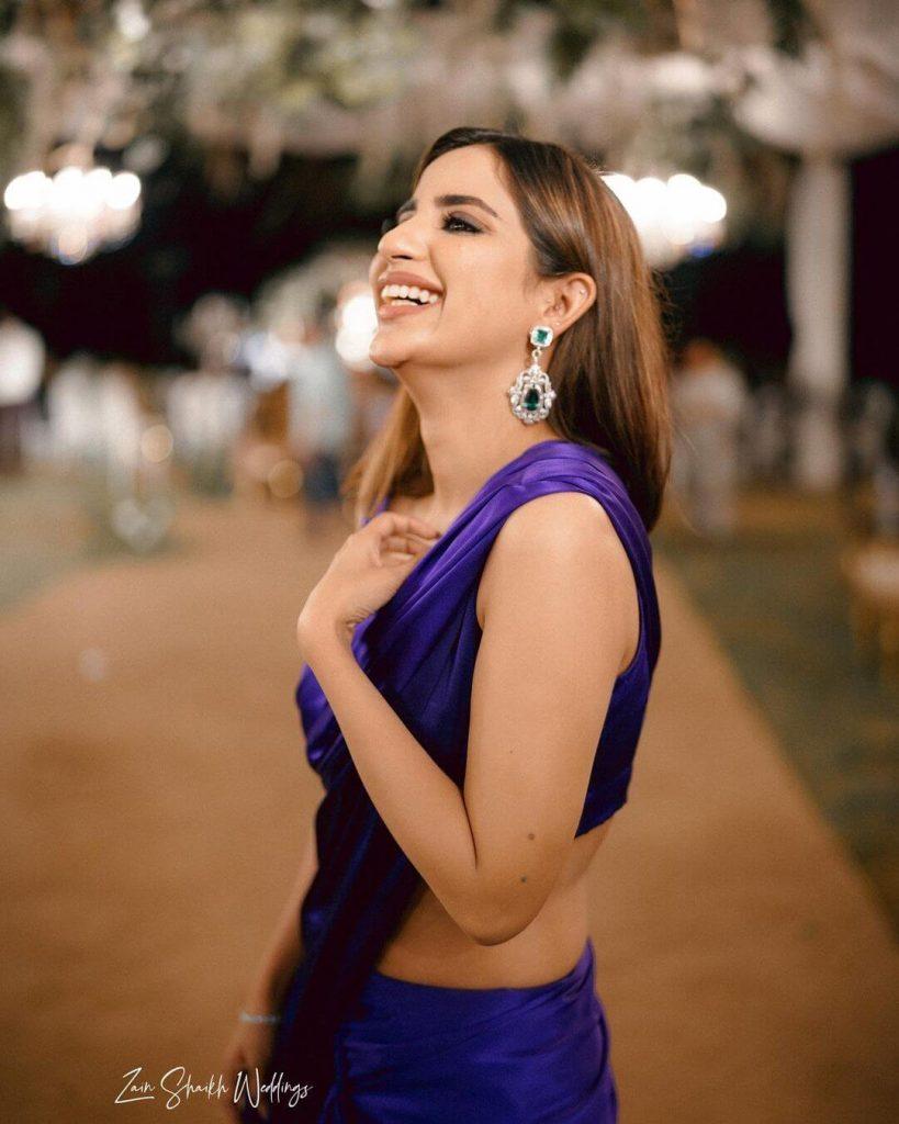 In Pics: Saboor Ali Celebrating Eid With Her Fiance Ali Ansari