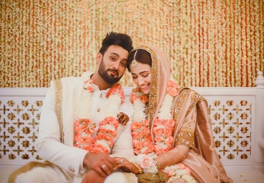 Umair Jaswal Celebrated Eid-ul-Fitar With Wife Sana Javed In Karachi