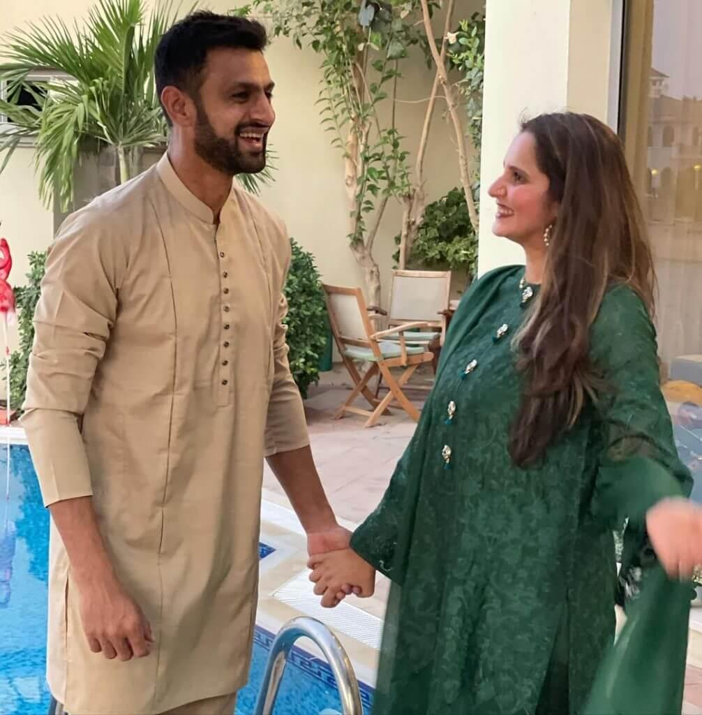 Shoaib Malik Celebrates Eid With Wife Sania Mirza in Dubai