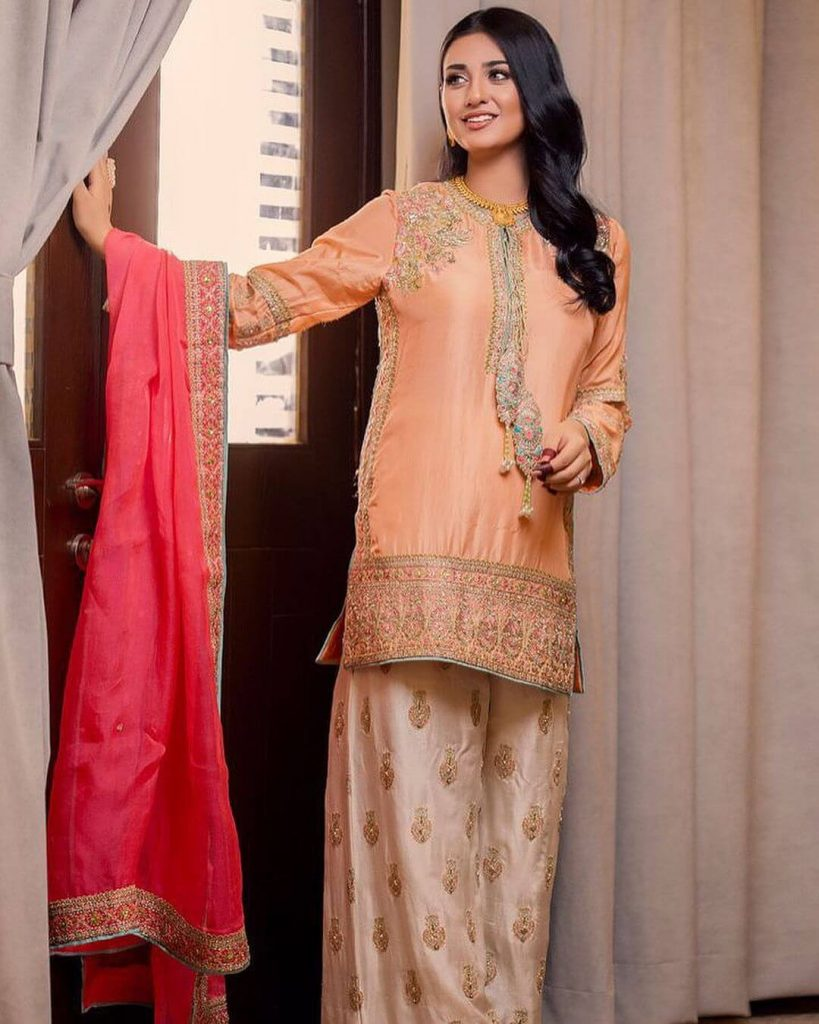 Sarah Khan And Falak Shabir Eid Day Pictures