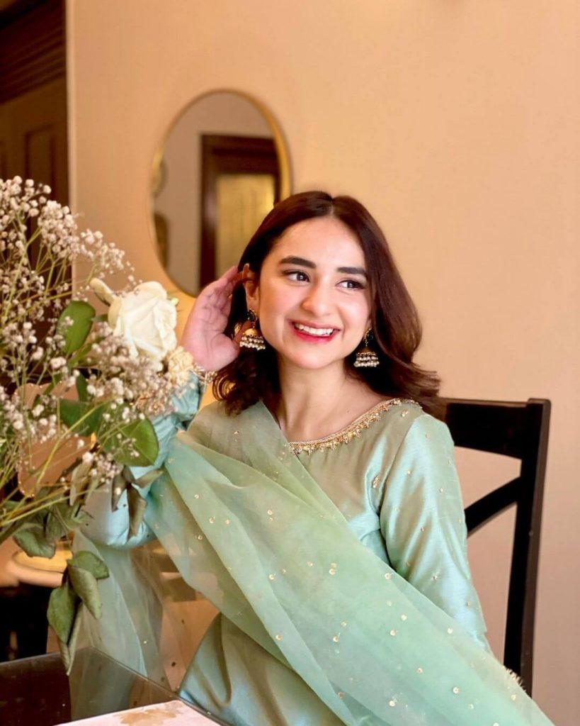 Yumna Zaidi Eid Ul Fitr Pictures Day-1