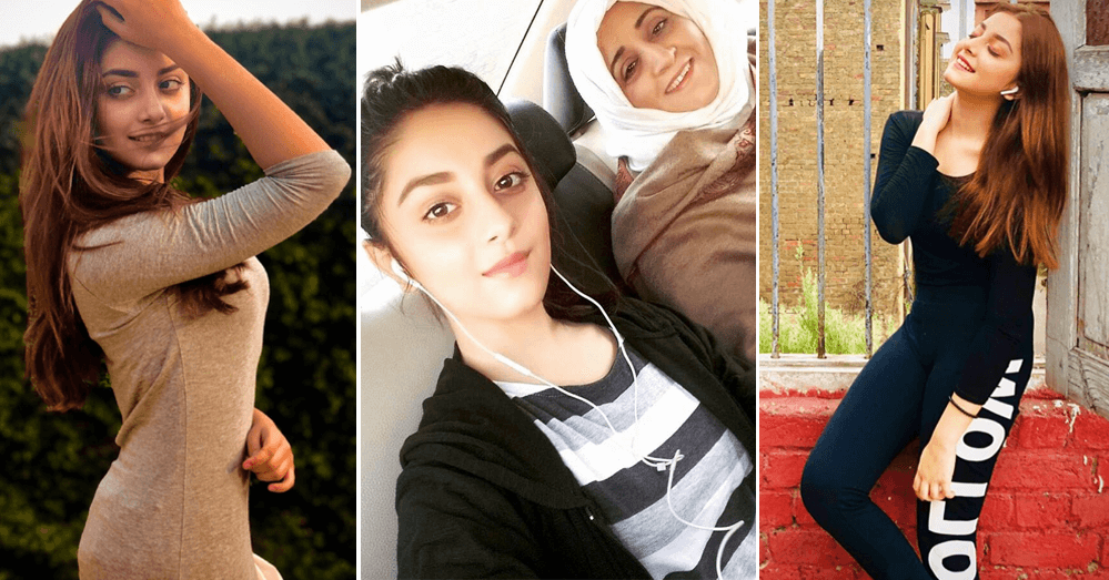 Alizeh Shah Beautiful Pictures With Her Mother