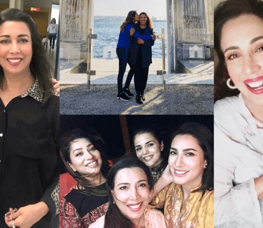 Beautiful Clicks of Mother Daughter Mehwish Hayat And Rukhsar Hayat