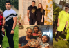Beautiful Family Pictures of Umar Akmal With His Wife And Kids