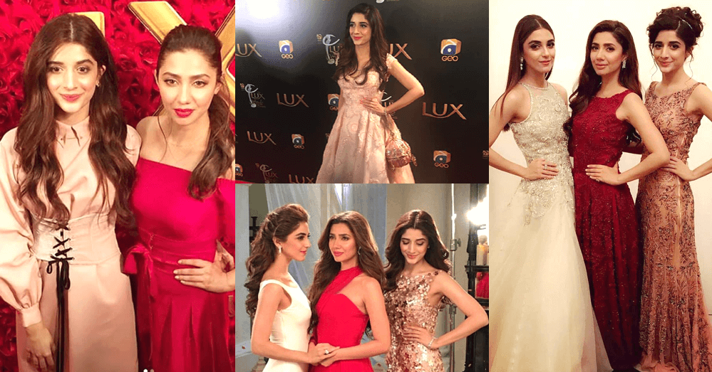 Mahira Khan With Maya Ali And Mawra Hocane At The TVC Launch Of LUX
