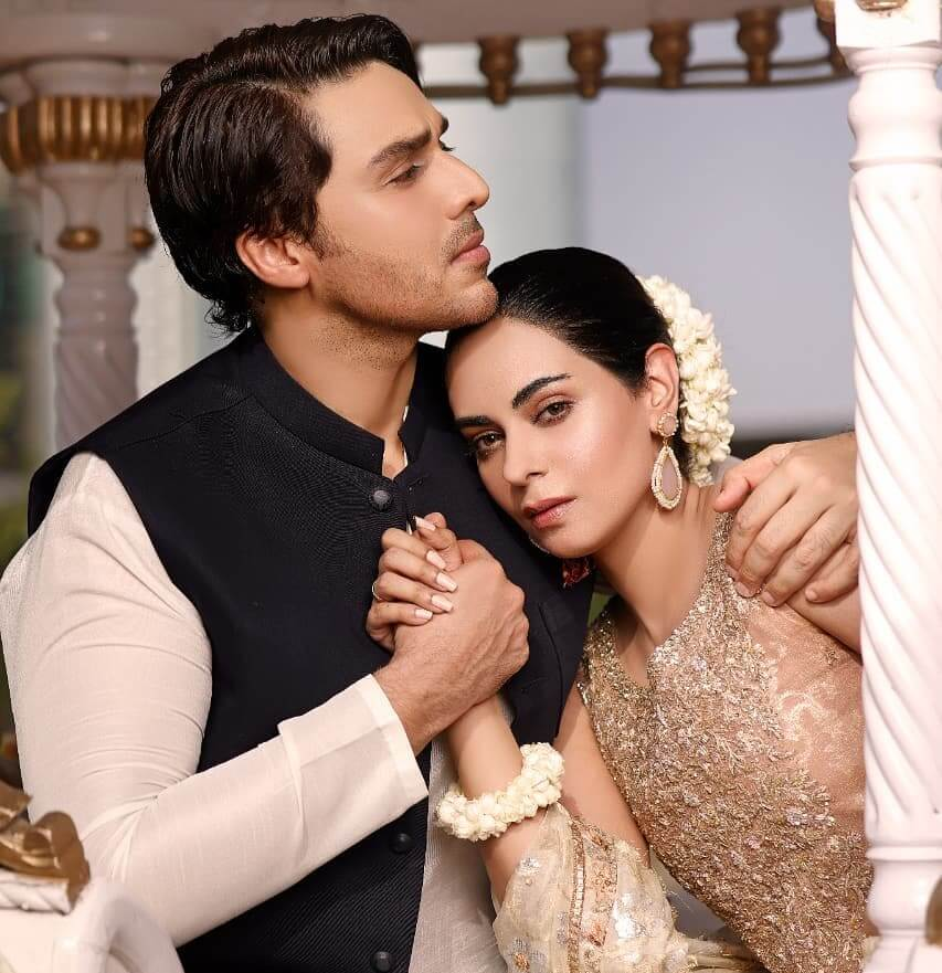Ahsan Khan And Amar Khan Looking Absolutely Gorgeous In Their Latest Photoshoot