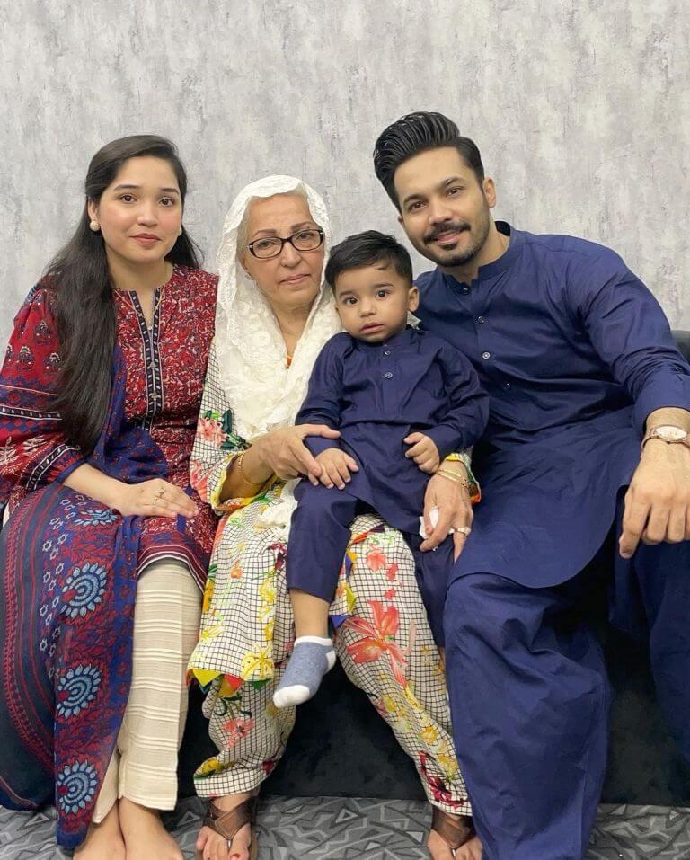 Ayaz Samoo and Amna Samoo Celebrate Son Amaz's 2nd Birthday [Pictures]