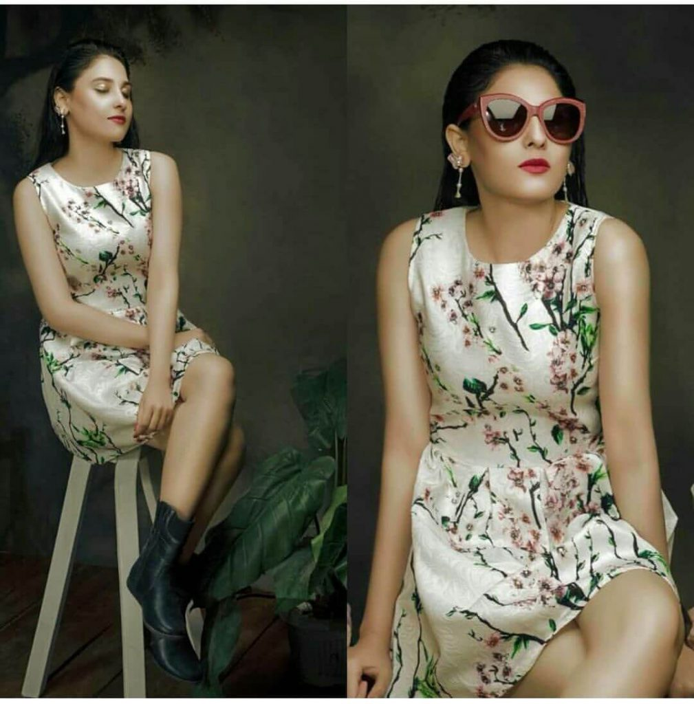 Hina Altaf Shows Off Her Stylish Side In Her Latest Instagram Picture