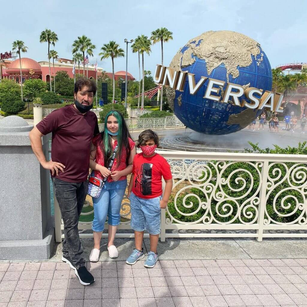 Beautiful Pictures of Javeria Saud Lovely Family Vacation