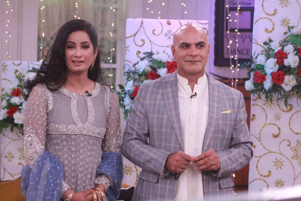 Newly Wed Couple Jia Ali And Imran Idress in Nida Yasir's Show